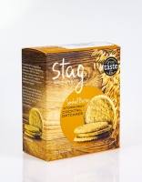 Stag Stornoway Cocktail Oatcakes with Smoked Butter 125g