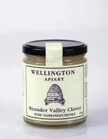 Wellington Apiary Tasmanian Meander Valley Clover Honey 325g