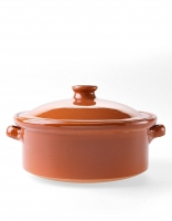 Graupera 'Cocotte' Traditional Casserole Dish - Honey 20cm