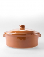 Graupera 'Cocotte' Traditional Casserole Dish - Honey 25cm