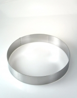 De Buyer Stainless Steel Cake Ring 24cm