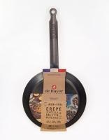 De Buyer Blue Carbon Steel Crepe Pan 18cm