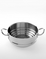 Silampos Stainless Steel 'Nautilus' Mulitsteamer for 16cm/18cm/20cm pots