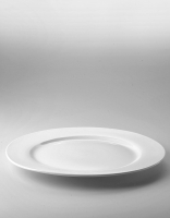 The Essential Ingredient White China Dinner Plate 30cm