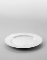 The Essential Ingredient White China Dinner Plate 25.5cm