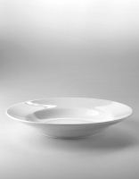 The Essential Ingredient White China Pasta Bowl 30cm