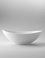 The Essential Ingredient White China Oval Bowl 25cm