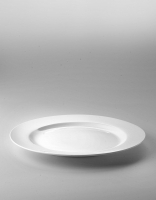 The Essential Ingredient White China Dinner Plate 28cm