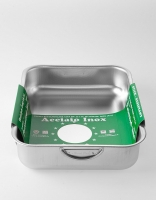 Steelpan Stainless Steel Deep Roasting Pan 26cm x 35cm