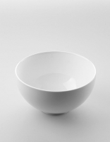 The Essential Ingredient White China Bowl 19cm