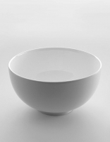 The Essential Ingredient White China Bowl 25cm