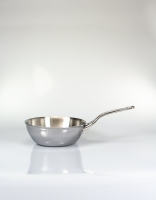 De Buyer Affinity Stainless Steel Conical Saute Pan 20cm