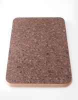 The Essential Ingredient Rectangular Cork Mat 'Burnt' 20cm x 30cm x 2cm