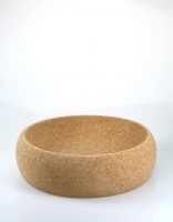 The Essential Ingredient Cork Fruit Bowl 28cm x 8cm