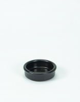 Graupera Tapas Dish - Charcoal 8cm