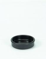 Graupera Tapas Dish - Charcoal 10cm