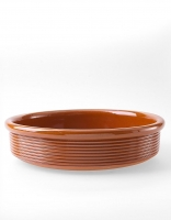 Graupera Casserole 'Wavy' - Honey 25cm