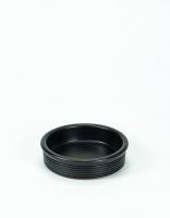 Graupera Tapas Dish 'Wavy' - Charcoal 10cm