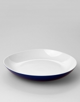 Vista Alegre Karma Blue Deep Plate 27cm