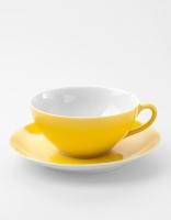 Vista Alegre Tea Cup & Saucer - Yellow