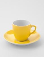 Vista Alegre Coffee Cup & Saucer - Yellow