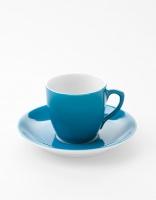 Vista Alegre Coffee Cup & Saucer - Sky Blue