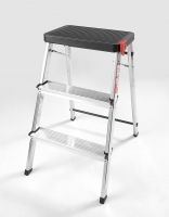 Rolser Ladder/Stool - 3 Step Black