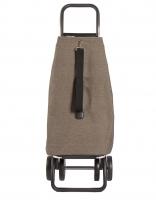 Rolser 'EcoMaku' Trolley, 4 wheels Brown/Granito