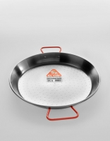 El Cid Polished Steel Paella Pan 34cm
