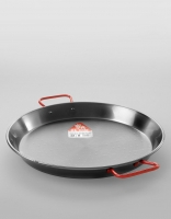 El Cid Polished Steel Paella Pan 38cm
