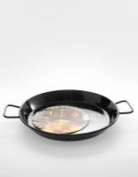 El Cid Enamel Induction Paella Pan 34cm