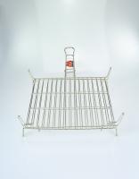 El Cid Stainless Steel Grilling Basket 30cm x 35cm