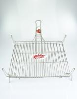El Cid Stainless Steel Grilling Basket 35cm x 40cm