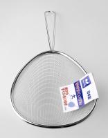 Japanese Stainless Steel Oval Scoop Strainer, Fine mesh