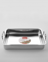 Inoxibar Stainless Steel Roasting Dish 40cm x 30cm x 6cm