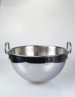 Inoxibar Semi Spherical Mixing Bowl with Handles 28cm