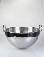 Inoxibar Semi Spherical Mixing Bowl with Handles 28cm