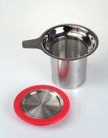 Inoxibar Stainless Steel Tea Infuser and Strainer with Lid 7.7cm