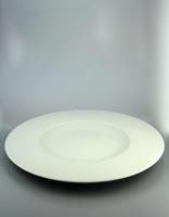 Pordamsa White Flat Rim Bowl 29cm