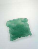 Pordamsa Matte Green Glass Tray 15cm x 14cm 15cm x 14cm