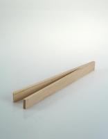 The Essential Ingredient Beech Wood Mini Tongs 16cm