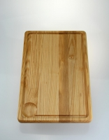 The Essential Ingredient Ash Wood Carving Board 40cm x 26cm