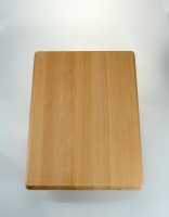 The Essential Ingredient Wooden Chopping Board with Rounded End 40cm x 30cm x 4c