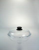 High Dome Pyrex Glass Lid 24cm