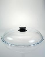 High Dome Pyrex Glass Lid 32cm