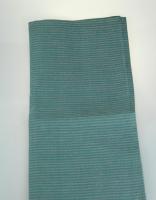 The Essential Ingredient Pure Linen Tea Towel - Green/Pink 47cm x 80cm