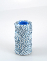 The Essential Ingredient White & Blue Rayon Butcher's Twine 140m
