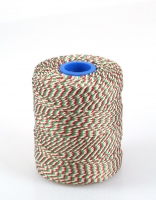 The Essential Ingredient White, Red & Green Rayon Twine 275m
