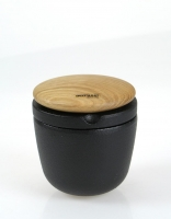 Skeppshult Cast Iron Spice Grinder with Oak Lid