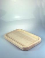 The Essential Ingredient Maple Mezzaluna Chopping Board 30cm x 20cm